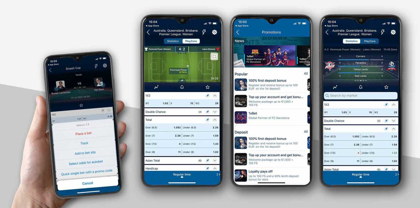 1xbet mobile Windows phone